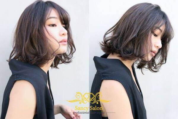 Các kiểu mẫu tóc uốn xoăn vểnh đẹp cực chất cực sang cho bạn gái