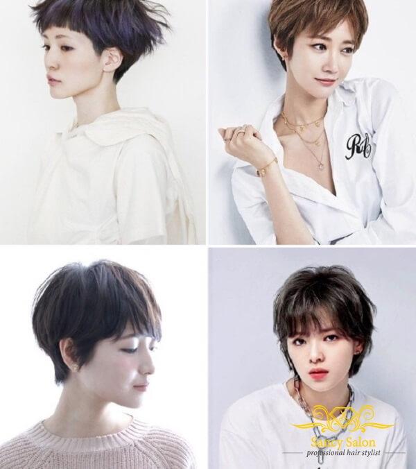 Kiểu tóc tomboy được biến hóa đa dạng lên theo thời gian và xu hướng để phù hợp hơn với đa số các bạn nữ.