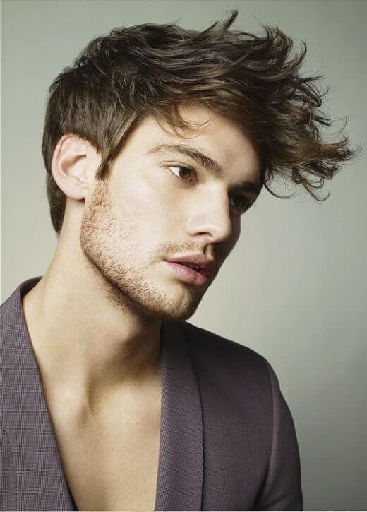 kiểu tóc indie đẹp cho nam mặt tròn