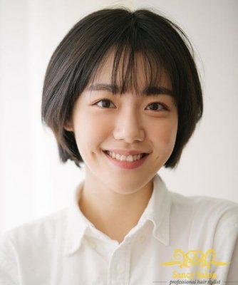 Tóc bob ngắn phong cách Hàn Quốc vừa trẻ trung lại vô cùng bắt mắt